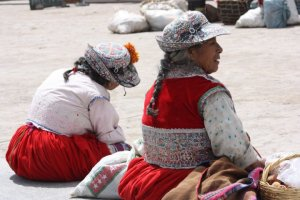 Ladies in the Colca Canyon