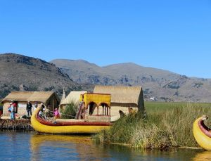 Lake Titicaca boats