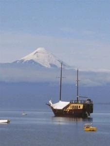 Osorno Volcano, Lake District, Chile