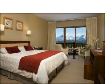 A room in Hotel Rio Serano
